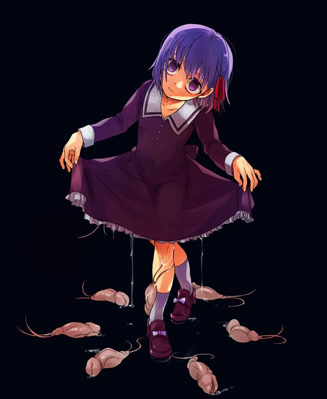 Fate stay/night, Fateシリーズ, アニメ, 間桐 桜, 紫髪の画像-46