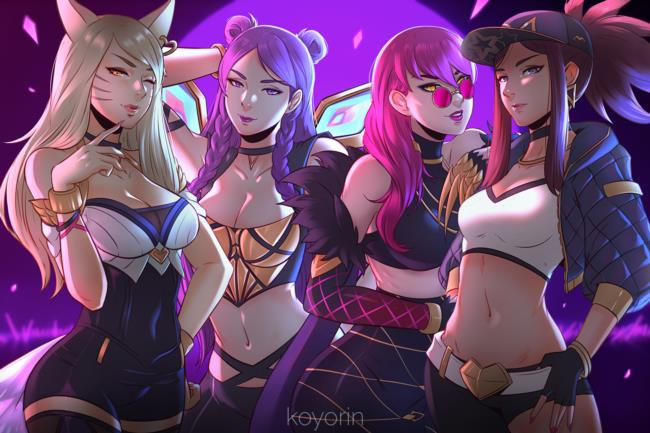 Ahri, Akali, Annie, Ashe, Jinx, League of Legends, LoL, Sona, Soraka, リーグ・オブ・レジェンド, 高画質, Hentaiの画像-34